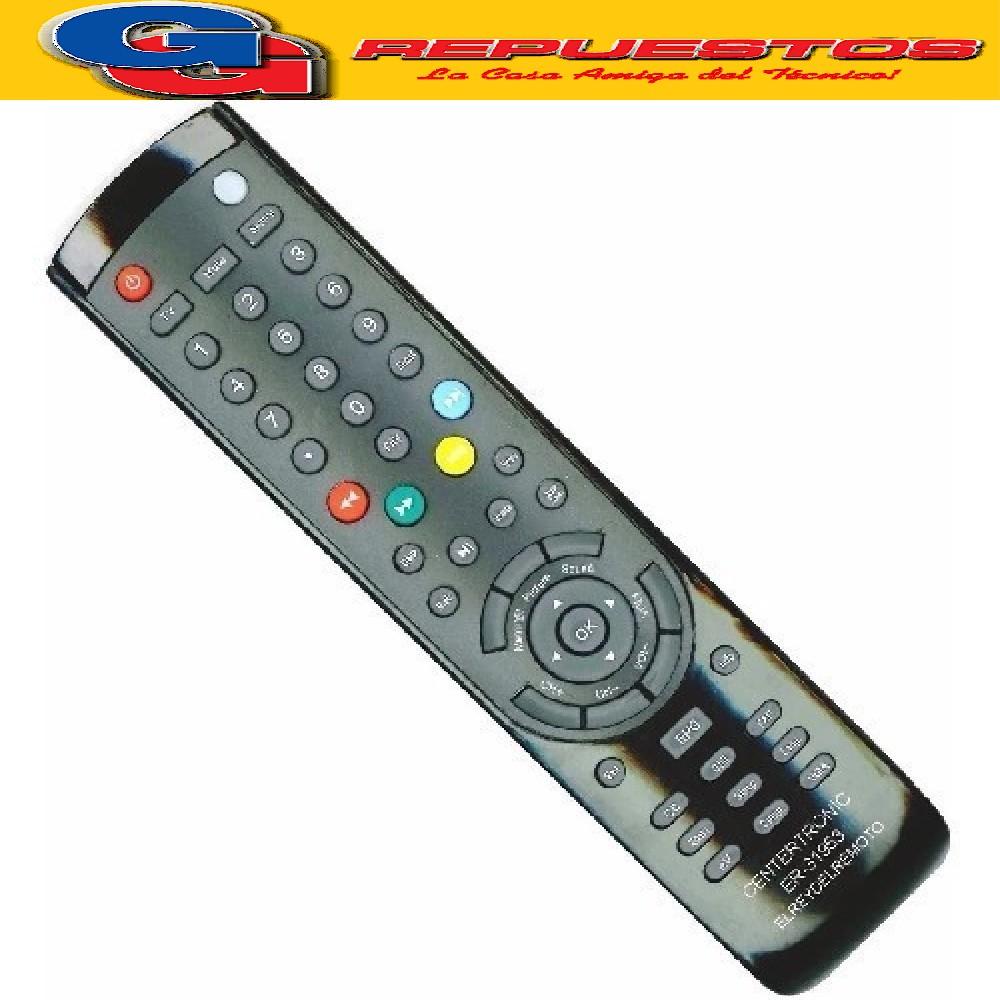 CONTROL REMOTO LCD BGH - NOBLEX-TELEFUNKEN 3807 ER-31953 JVC R6807