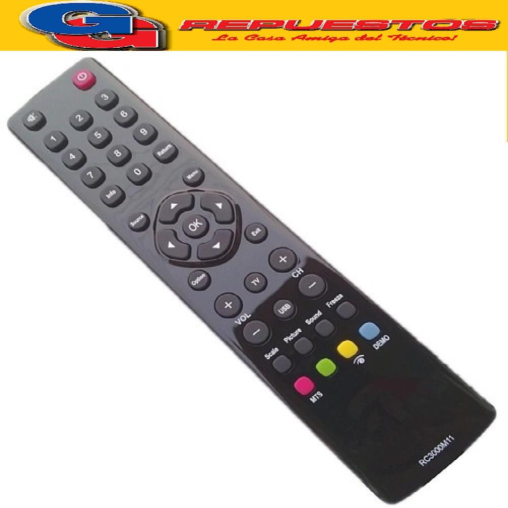 CONTROL REMOTO LCD RCA 3821 R6821 TCL