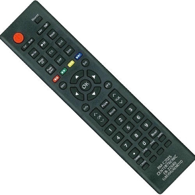 CONTROL REMOTO LCD LED BGH/TFK/JVC/NOBLEX RM-C2085/PHILCO 3830 ER-22640N HISENSE HLE3213A RM-C2085 ILO R6830 REEMPLAZO R6803 THS ER-22640N