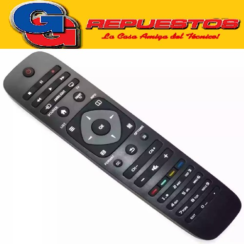 CONTROL REMOTO LED PHILIPS CASITA 3845 LINEA VERDE