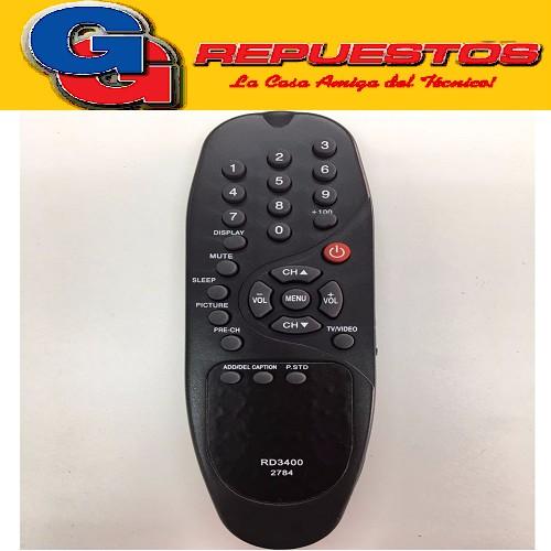 CONTROL REMOTO TV 2784 LINEA VERDE ADMIRAL