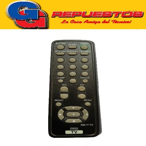 CONTROL REMOTO TV SIMILAR A SONY 2952 LINEA VERDE