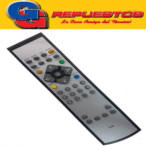 CONTROL REMOTO LED GRUNDIG TONOMAC