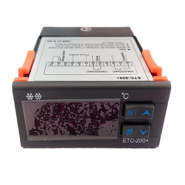 COMBISTATO ETC-200  ELECTRONICO 1 SONDA + DEFROST -40ºC - 120ºC )+ RELE