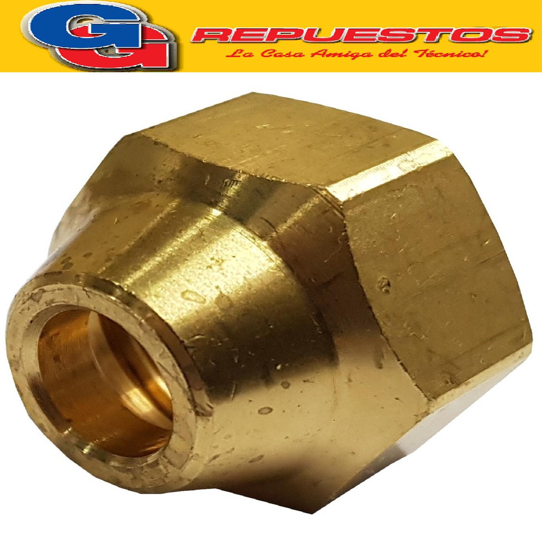 TUERCA 5/8 F-forjada-bronce-----150NT05F-