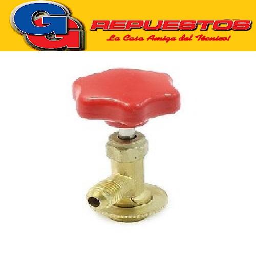 VALVULA PARA GARRAFA CT-338 ROSCA CHICA P/MANIFOLD