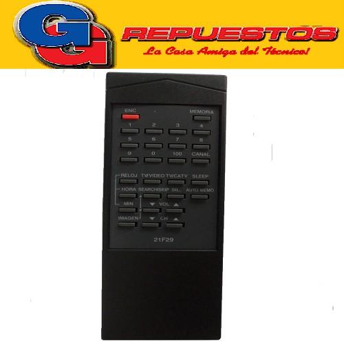 CONTROL REMOTO TV PHILCO 21F29 (2625) RM20 12625 LINEA VERDE