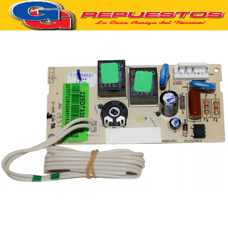 PLAQUETA HELADERA PATRICK HPK310/350 ORIGINAL HMA295-HMA335-HMA450-NF660-RMV21-RMV41-REGE390-REGE410 MABE GENERAL ELECTRIC HGE450NF DD1