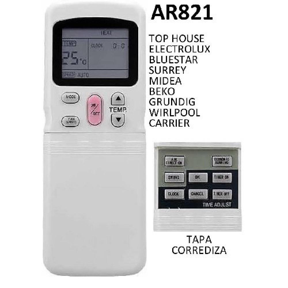 CONTROL REMOTO AIRE ACONDICIONADO SURREY Y VARIOS FRIO CALOR R11CG/E