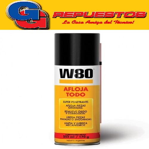 AFLOJA TODO W80 252ML/170GR CHICO