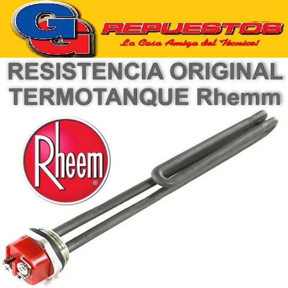 RESISTENCIA TERMOTANQUE RHEEM 1  2000 W ORIG.