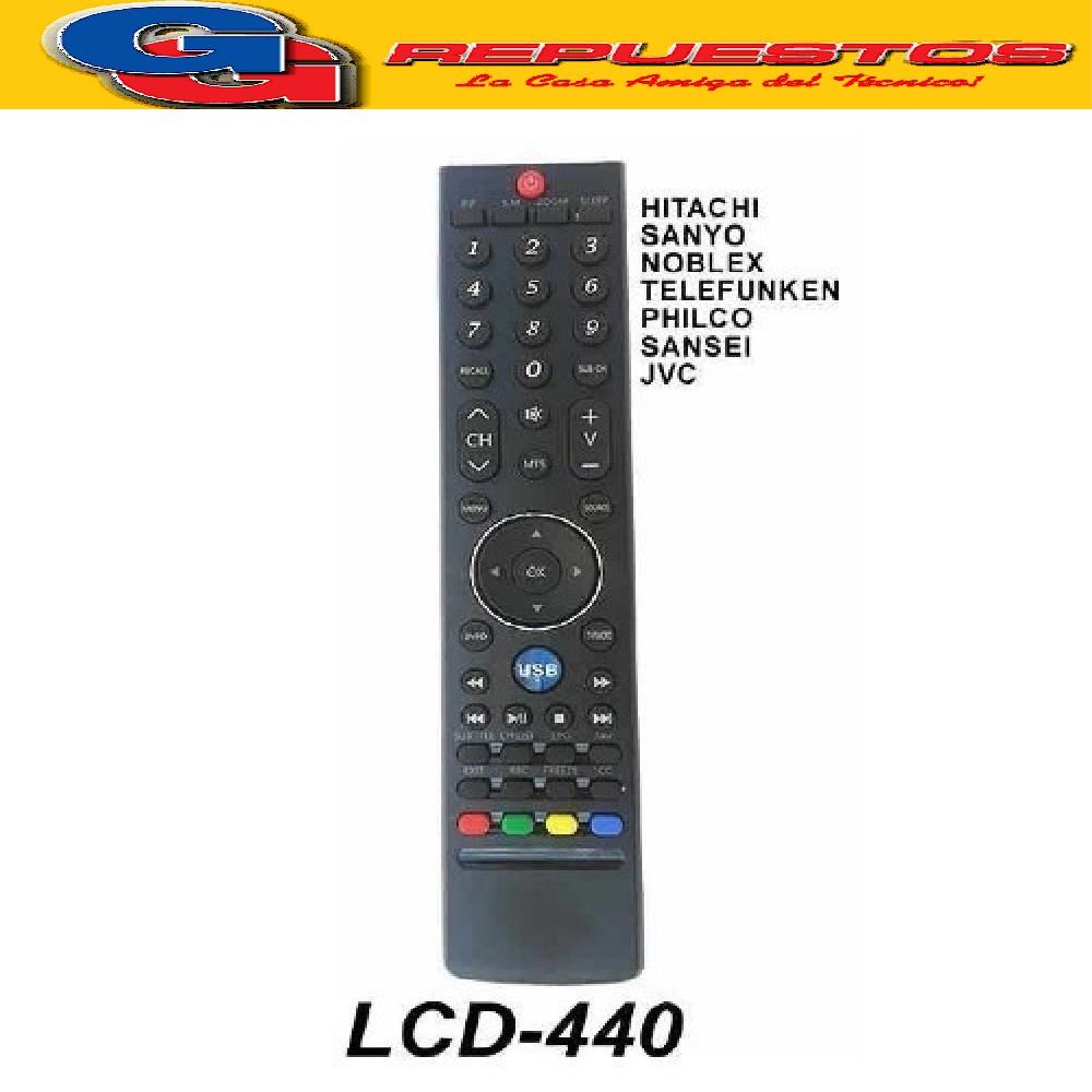 CONTROL REMOTO LCD HITACHI CR-FD06 440 3589 3805=3589=R6805=R6589= 440LCD=3842=3840