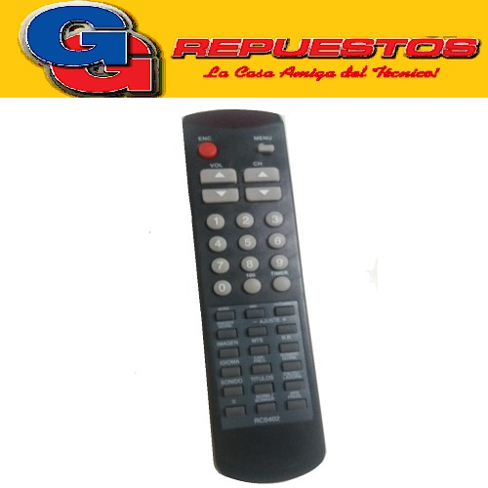 CONTROL REMOTO TV NOBLEX/SAMSUNG RC0402 (2469) 029
