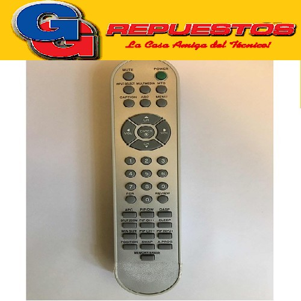 CONTROL REMOTO LCD LG 3541 412
