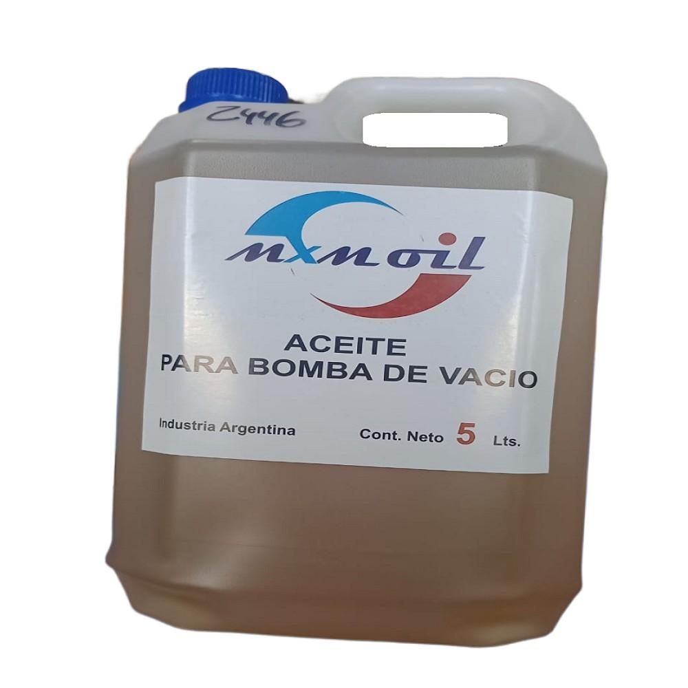 ACEITE PARA BOMBA DE VACIO MXM OIL 5 LITROS