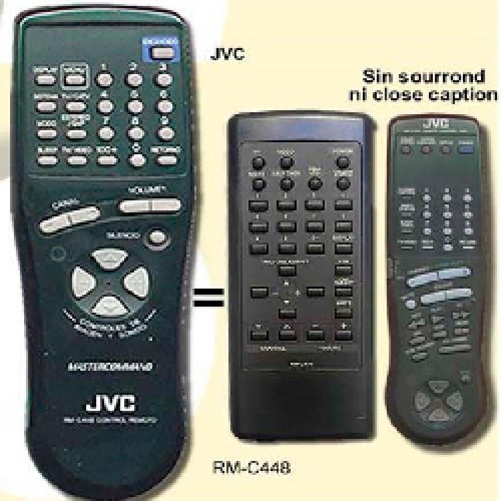 CONTROL REMOTO TV JVC RMC445 (2458) PALETA 010