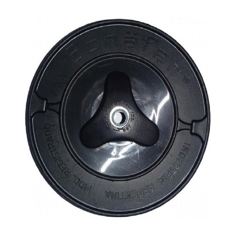 CARRETEL  PYR STD. ROJO C/CHAVETA BORDEADORA