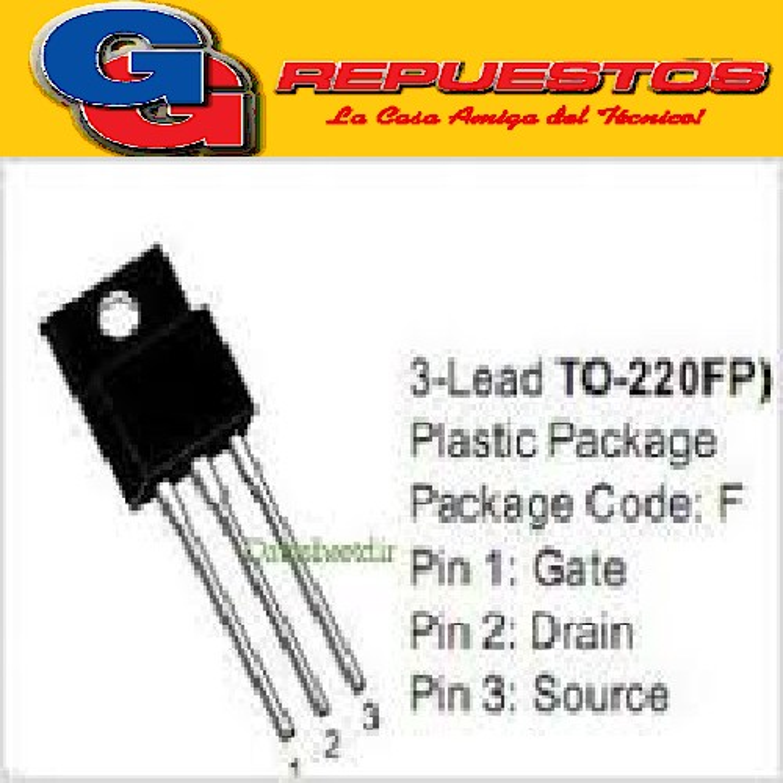 TRANSISTOR FET 10N60 = K2996 FET N ( 600V / 10A - 50W )