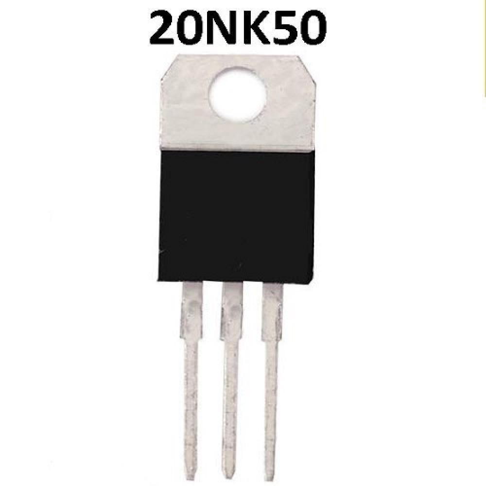 20NK50 / 50Z TRANSISTOR FET FET N LCD ( 500V /20A/190W/<0.23R)