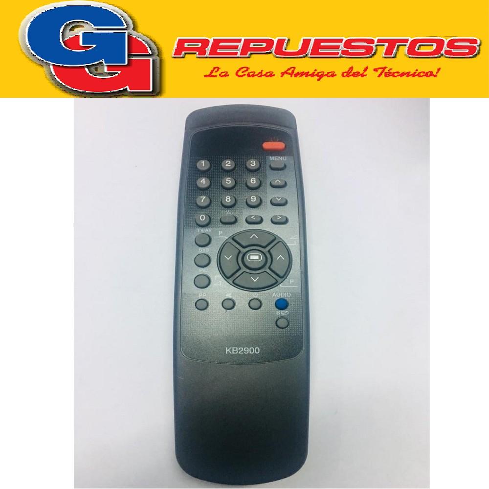 CONTROL REMOTO TV KEN BROWM 29  KB2900 2642 MP1124