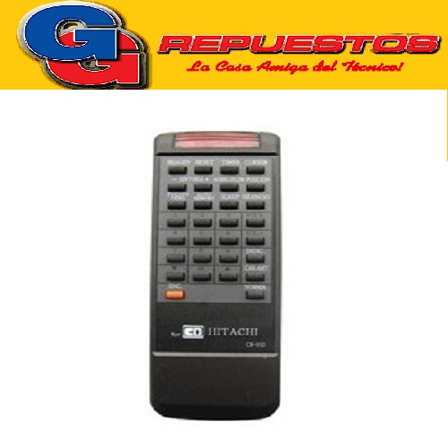 CONTROL REMOTO TV CR910 HITACHI (2568) MP1155