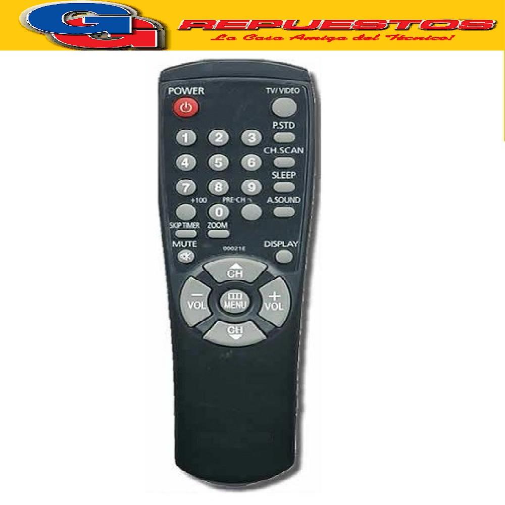 CONTROL REMOTO TV GRAL ELECTRIC SAMSUNG Serie Dorada Telefunken (2792) 00021E MP1144