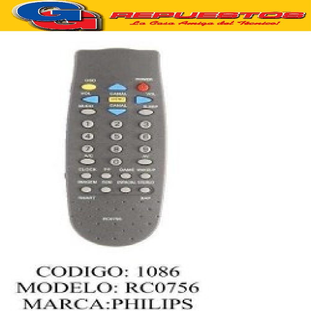 CONTROL REMTO TV PHILIPS PH917