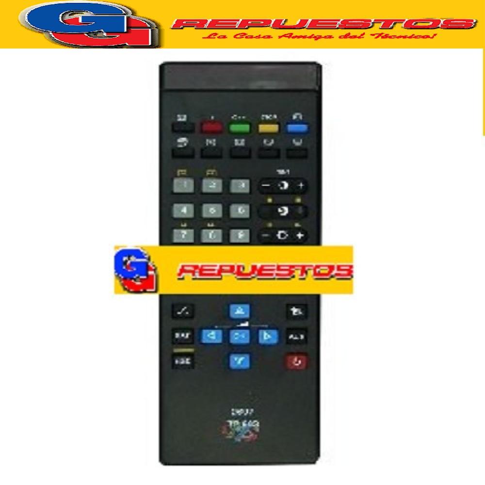 CONTROL REMOTO TV GRUNDIG TP663 (2697) MP1236