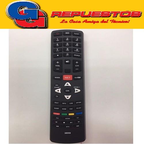 CONTROL REMOTO LED SMART 3D TCL 3859 TCL / HITACHI / JVC / NOBLEX / SANYO / PHILCO