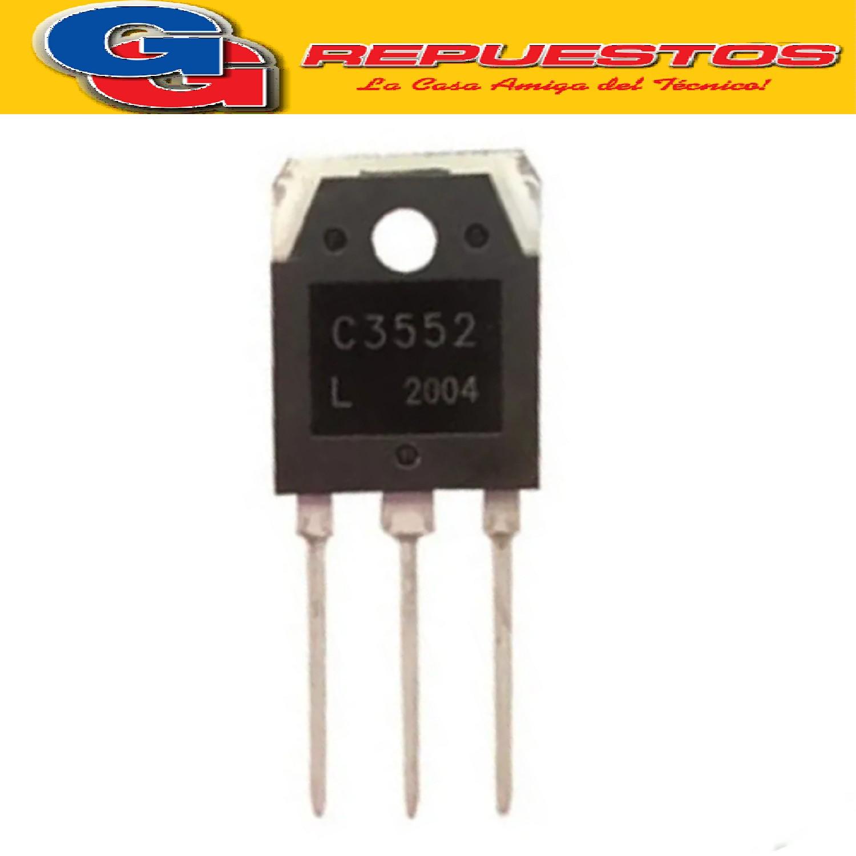 2SC3552 / BUV48C ORIG TRANSISTOR NPN ( 800V/ 12A - 150W )