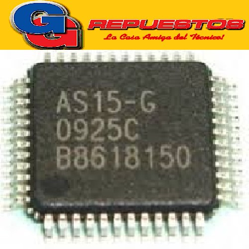 CIRCUITO INTEGRADO AS15GSMD LCD SMD ( TECOM )