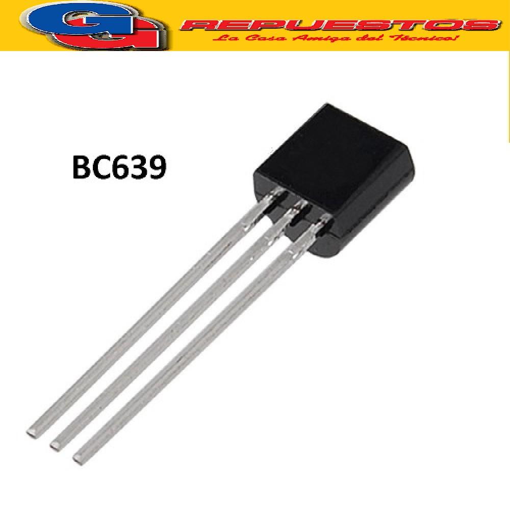 BC639 TRANSISTOR NPN  ( 100V/ 1A - 40 HFE ) =2SC2274