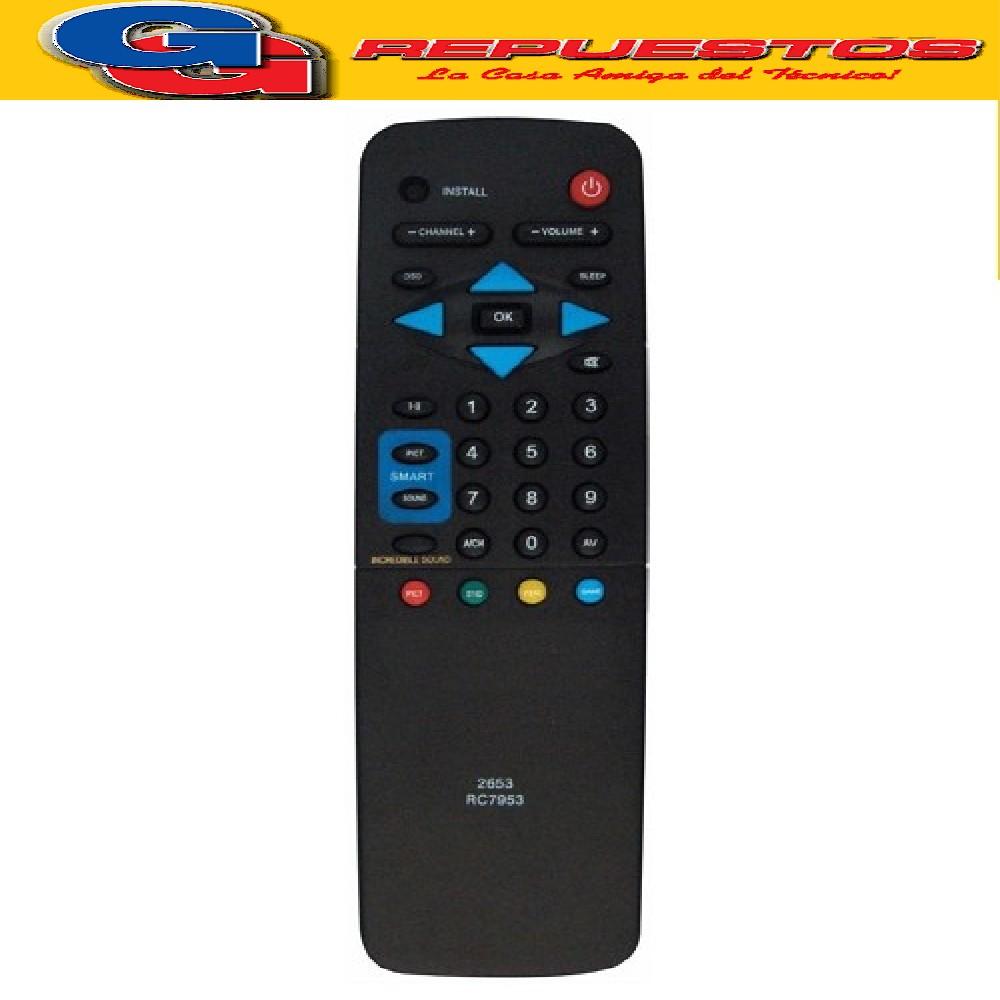 CONTROL REMOTO TV RC7953 PHILIPS SAMSUNG (2653)