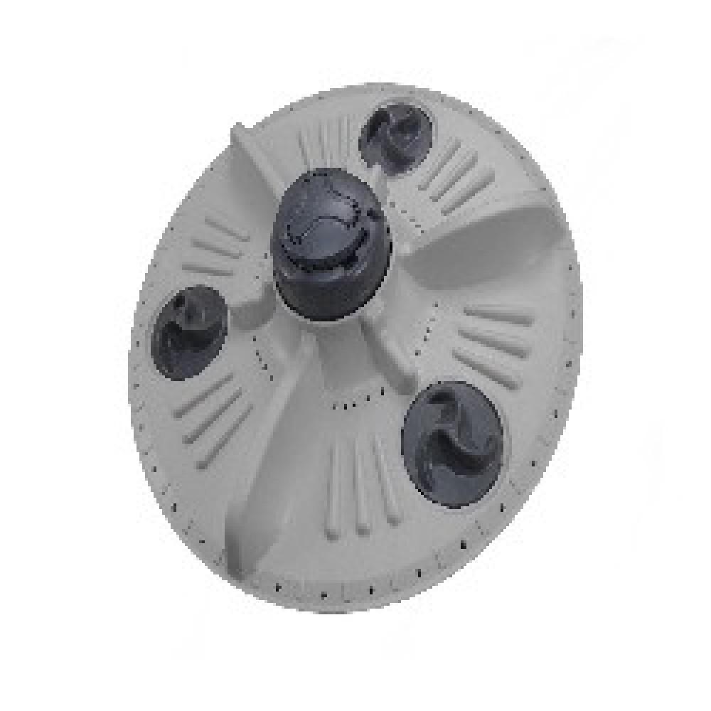 AGITADOR TURBINA/ RODETE de 39.5cm BGH-LG WFT1304TP WFT1201TP (Centro estriado metalico)