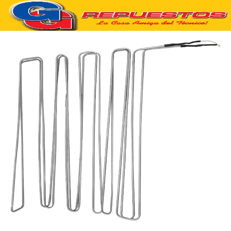 RESISTENCIA DE ALUMINIO DE HELADERA NO FROST COVENTRY CNF328NF STANDAR ELECTRIC STE NF 1600 BAMBI 1600NF WHITE WESTINGHOUSE 328NF 1307 220V 215W