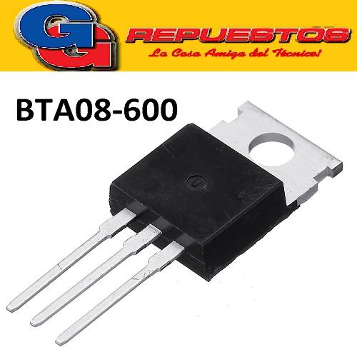 BTA08-600 TRIAC  8A 600V G= 50ma