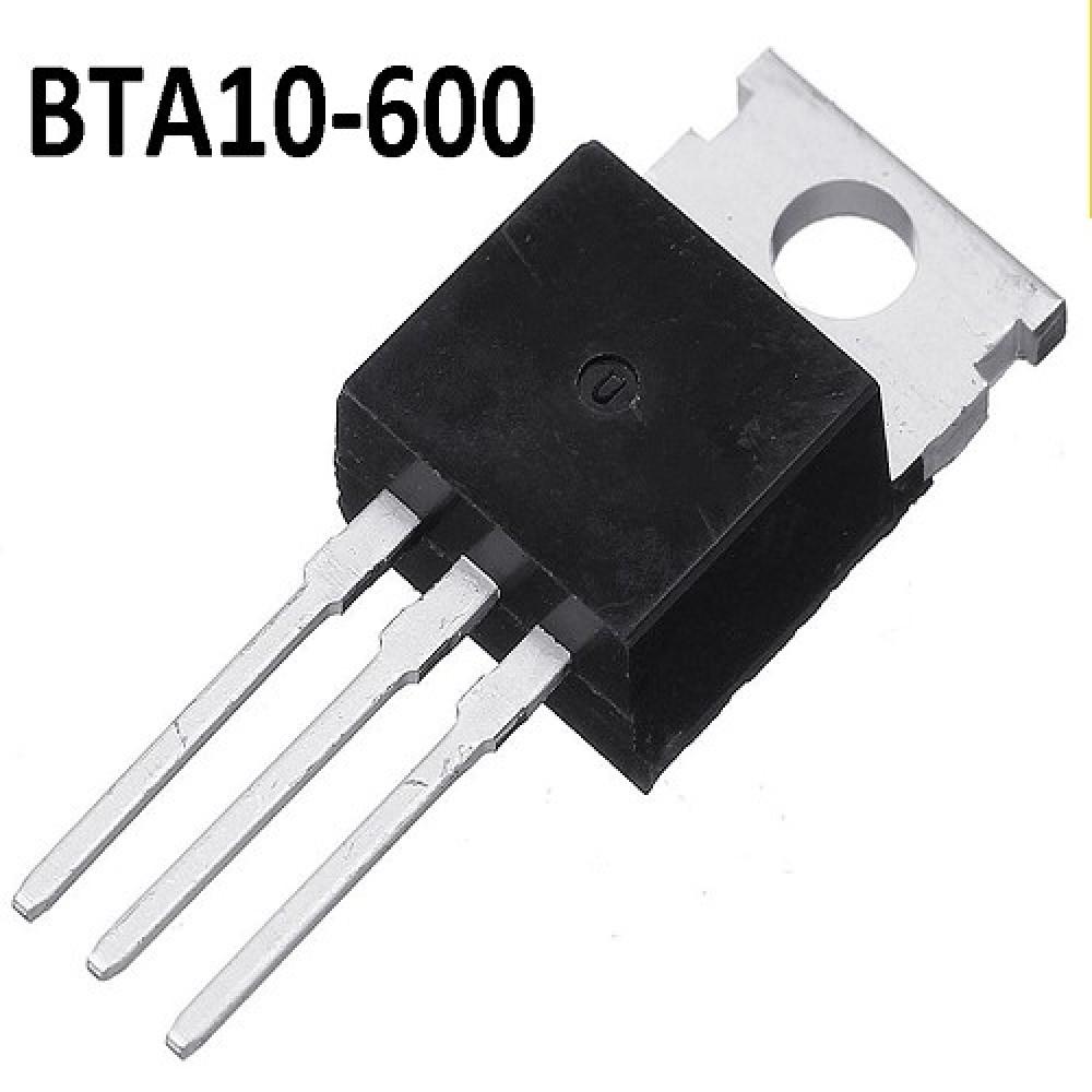 BTA10-600 TRIAC 10A 600V G= 50ma (AISLADO
