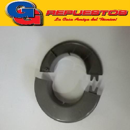 ARO TAPA AGUJERO / EMBELLECEDOR. PARED GRIS PARA SPLIT DIAMETRO EXTERIOR 11.7 CM - DIAMETRO INTERIOR 6 CM