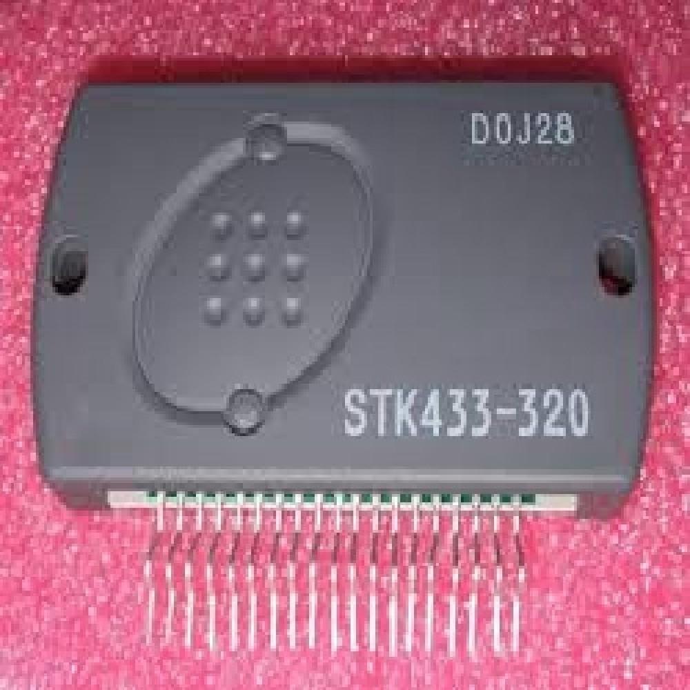STK433-320 CIRCUITO INTEGRADO AMPLIFICADOR DE AUDIO 3X120W / ±65V