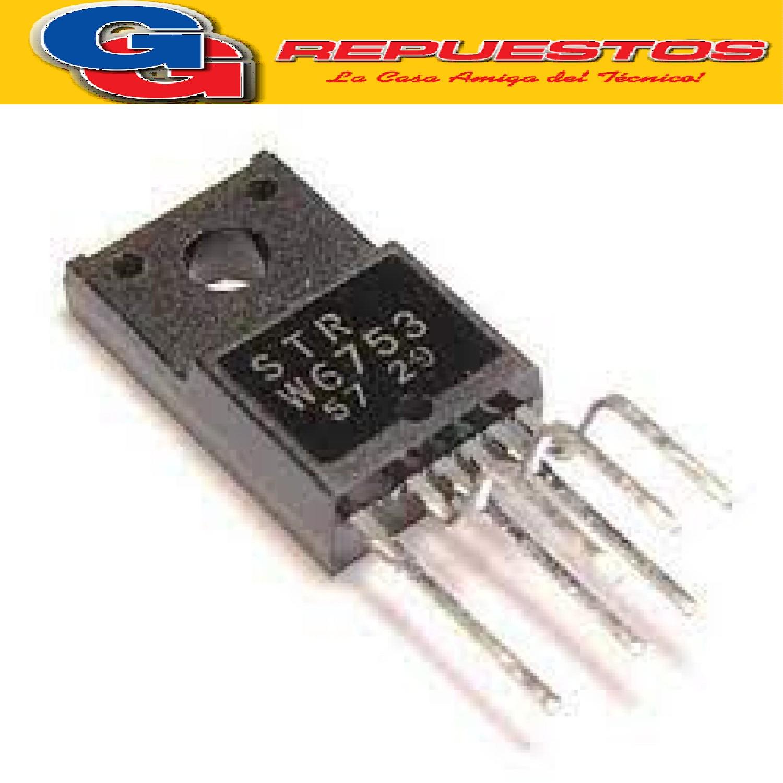 STRW6753 CIRCUITO INTEGRADO   TIRISTOR