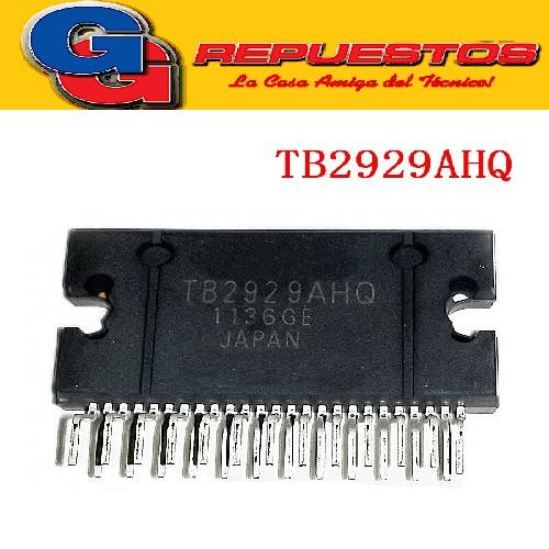 TB2929HQ CIRCUITO INTEGRADO AMPLIFICADOR DE AUDIO LCD -25PIN- (45WX4/)