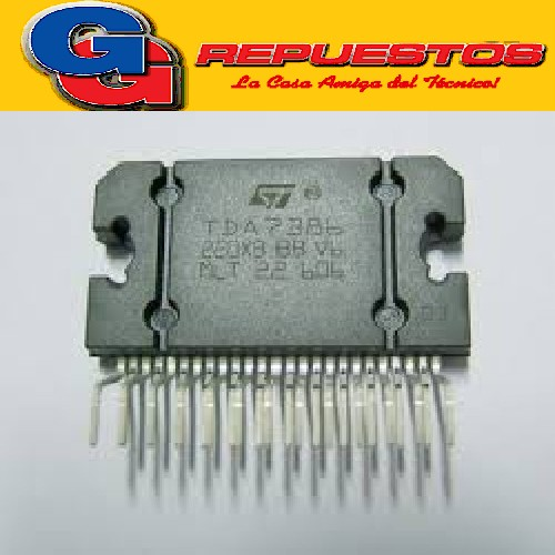 TDA7386  CIRCUITO INTEGRADO  = PAL00.. (REEMPLAZO  PAL 005/006/007) SALIDA AUDIO PURE 5001 H