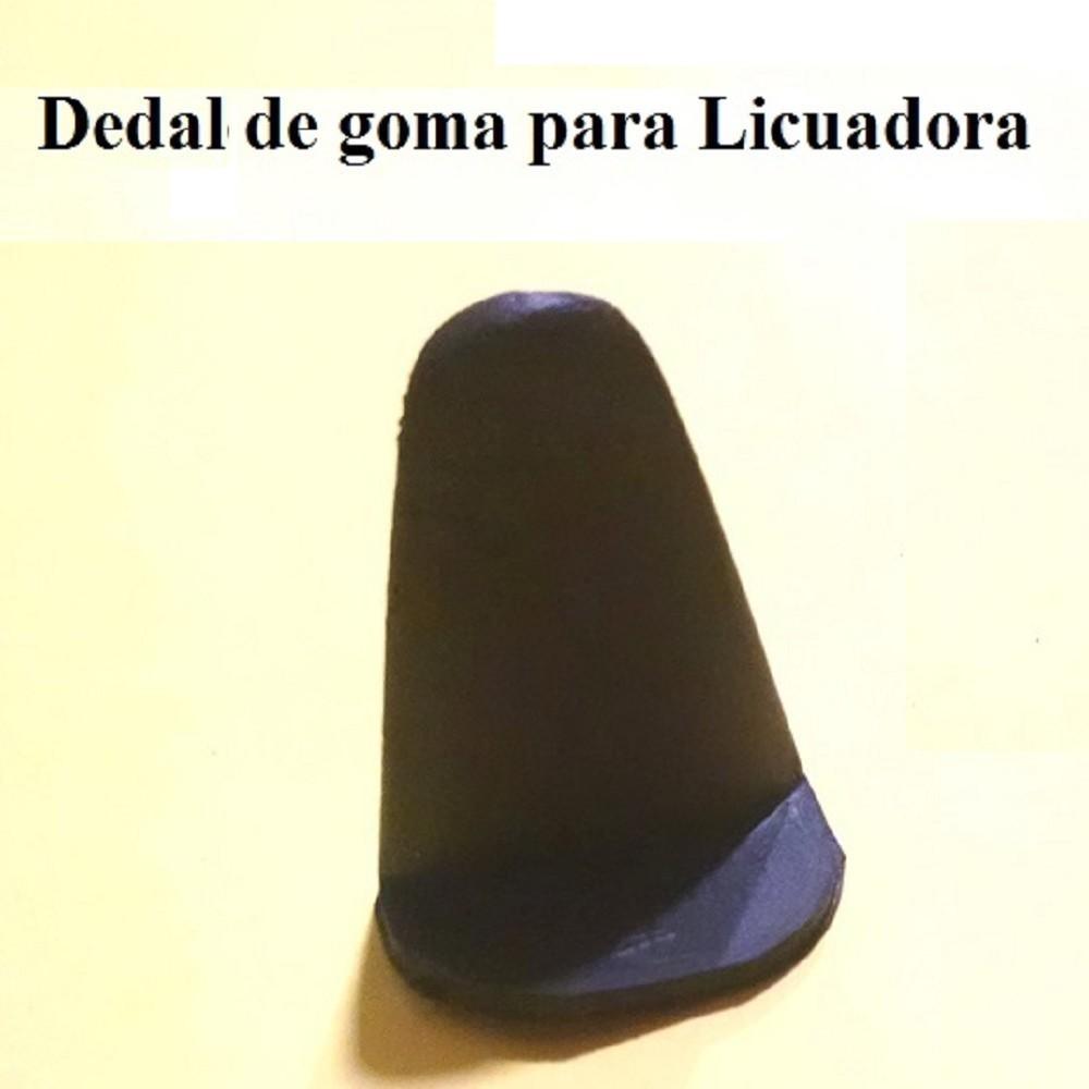 DEDALES DE GOMA LICUADORAS CHATO SIMPLE NEGROS TURMIX