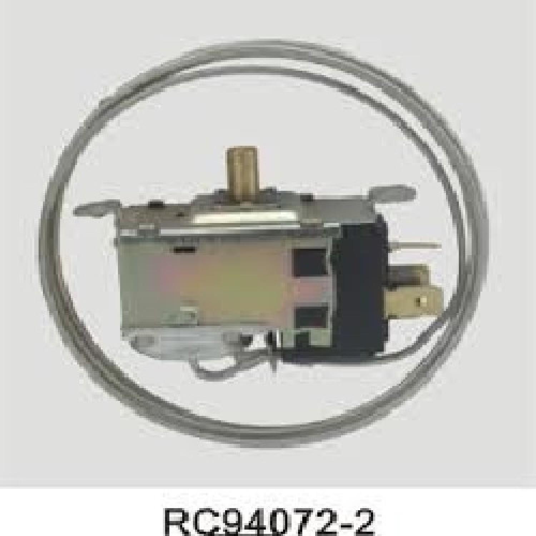 TERMOSTATO RC 94072-2S / COLUMBIA / FREEZER (+4.5-16.4_-19.2_-24) 3 CONTACTOS EJE REDONDO 2 FRIOS / 3 TERMINALES TSV9011 - TSV9016 CAPILAR 1000 mm