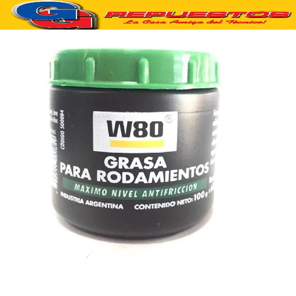 GRASA PARA RODAMIENTO W80 100 g