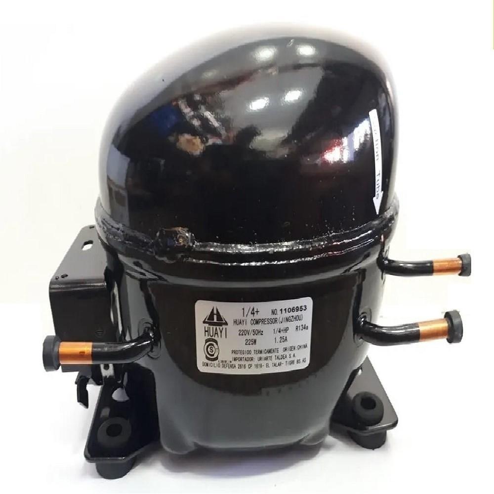 MOTOCOMPRESOR HUAYI 1/4+ HP DUAL 134/R12 BLEND E80HB5 AE1380