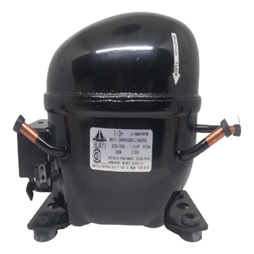 MOTOCOMPRESOR HUAYI 1/3+ HP DUAL R134/R12 E100HBQ5 X100HYDQ5