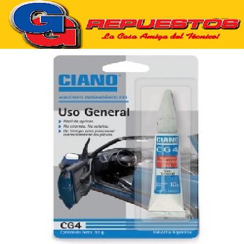 CIANO CG4 GEL X 10 GRS