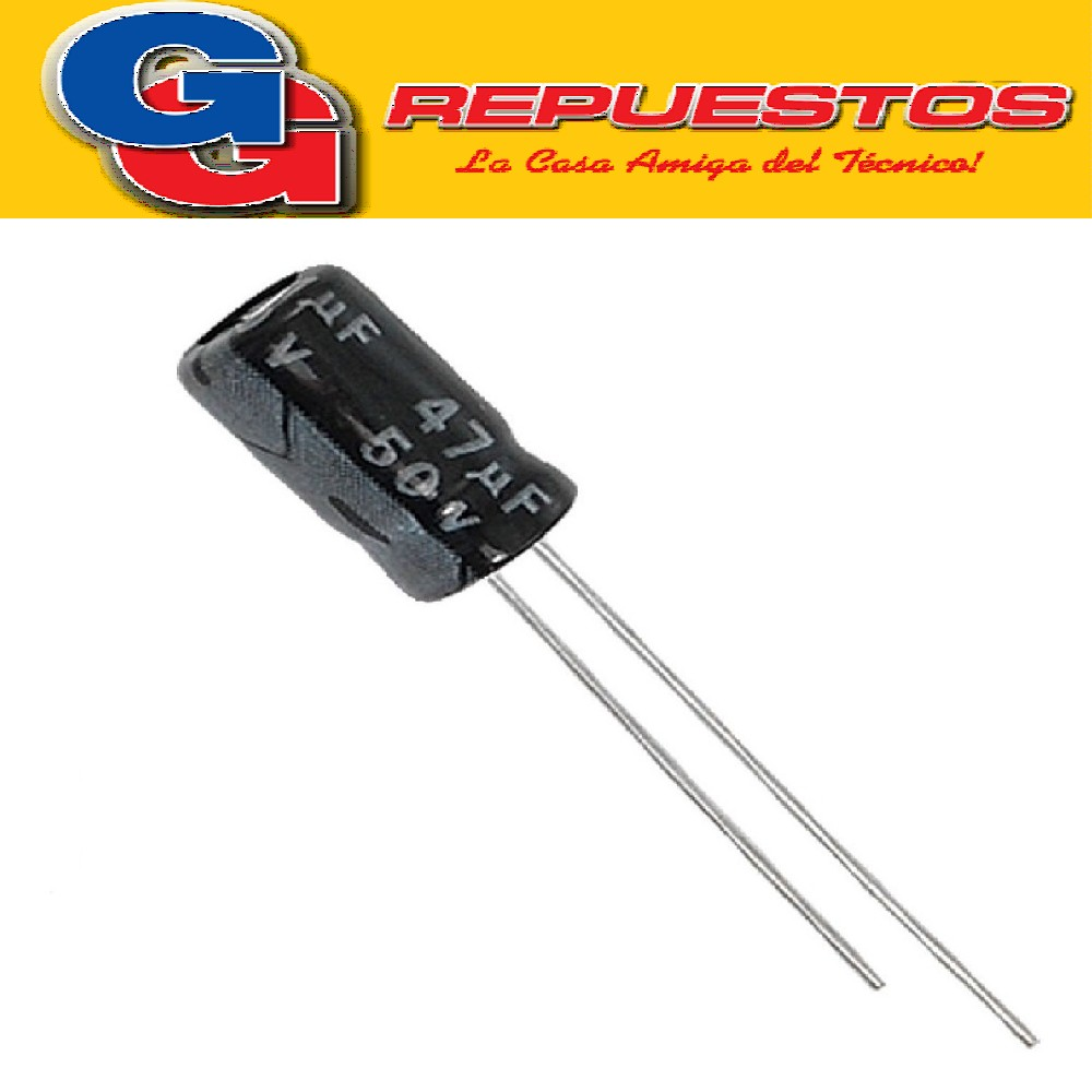 CAPACITOR ELECTROLITICO 47uFX50V