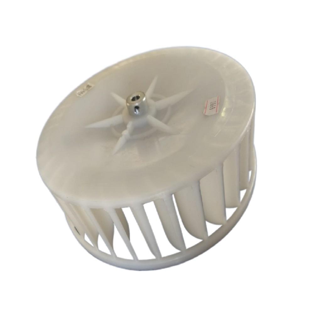 TURBINA PURIFICADOR 200 mm GRANDE BUJE 8 mm IZQUIERDO ALTO 6.5 cm